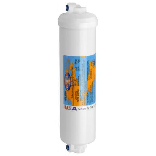 "Omnipure K5540 SS GAC Granular Carbon Water Filter 2.5/"" x 10/"" OMNIPURE K5540 SS"