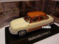 voiture1/43 ATLAS / les voitures de mon père : PANHARD DYNA Z bicolore