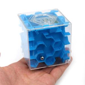 Puzzle-3D-Cube-Labyrinthe-Tirelire-Jouet-Amusant-Jeu-de-Cerveau-Defi-LBB