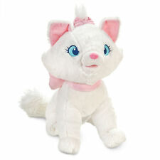 "Disney Store Authentic Patch Aristocats Marie Cat BIG Plush Toy Doll 12"" NWT"