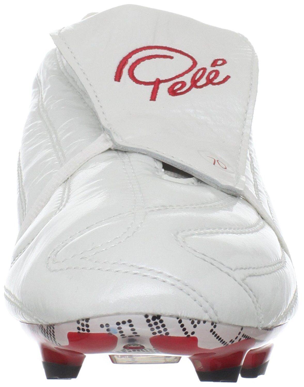 Pele Sports 1970 FG MS Weiß rot Soccer Fussball Fussball Fussball Schuhe 40 41 5 48 7 8 13 WM a81ec8