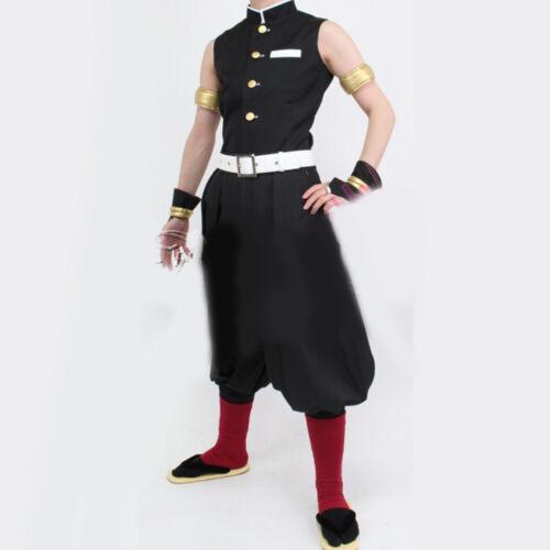 Anime Kimetsu No Yaiba Uzui Tengen Samurai Suit Cosplay Costume Custom Made Unisex Clothing Shoes Accessories Demon slayer sound pillar tengen uzui cosplay costume. anime kimetsu no yaiba uzui tengen samurai suit cosplay costume custom made unisex clothing shoes accessories