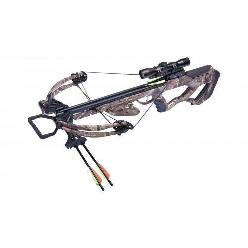 Camo AXCT185CK New Crosman CenterPoint Tormentor 370 Crossbow Kit