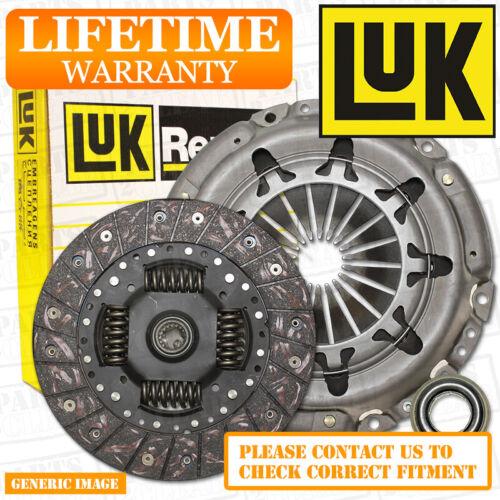 Bearing 184 08//98-09//00 SLN M57 D30 BMW 530d 3.0D LuK 3 Piece Clutch Kit