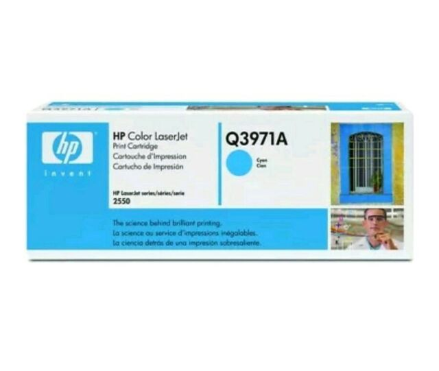 New Authentic Hp 123A Original Cyan Q3971A HP Invent 00903 Brand New Sealed