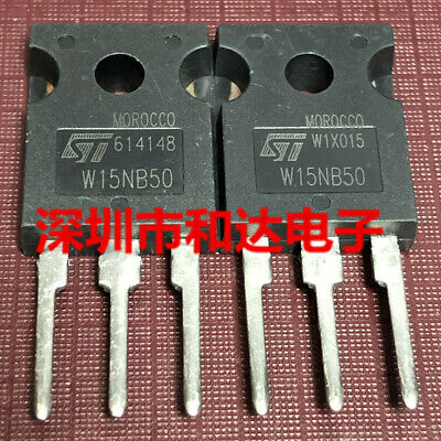 5pcs STW15NB50 W15NB50 TO-247