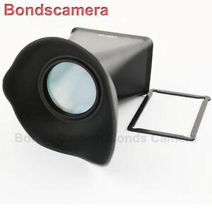 "3 /""Pantalla LCD 2,8 X Visor Extensor Finder Para Nikon 1 J1 J2 J3 V1 V2 Cámara"