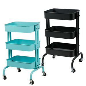 ikea rolling cart kitchen trolley cart slim rolling 3 tiers storage rack 29540