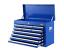 Giantz-10-Drawer-Tool-Box-Chest-Cabinet-Garage-Storage-Toolbox-Blue thumbnail 1