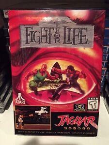 Fight-for-Life-Jaguar-Atari-Factory-Sealed-New