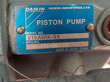 Daikin V Series Hydraulic Piston Pump V15a1rx 95 Low Hours