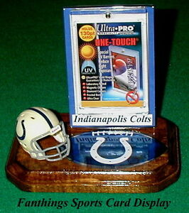 Indianapolis-Colts-NFL-Sports-Card-Display-Holder-Helmet-Logo-Gift