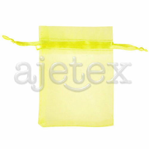 6 Size 20pcs Wedding Bags Organza Gift Jewellery Candy Pouches Wholesale