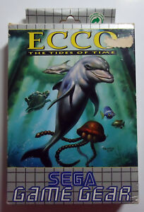 Ecco-The-Tides-of-Time-boxed-incl-manual-SEGA-Game-Gear