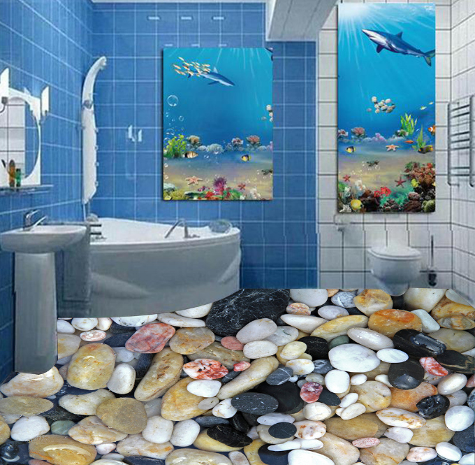 3D Stones Picture 232 Floor Wall Paper Wall Print Decal Wall Deco AJ WALLPAPER