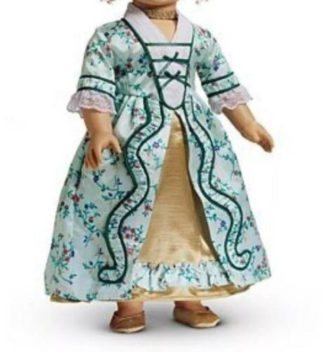 American Girl Elizabeth Holiday Gown Dress& Shoes Retired No Box,doll Includ