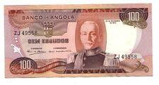 Angola 100 Kwanzas 1972  FDS  UNC    pick 101 lotto 2726
