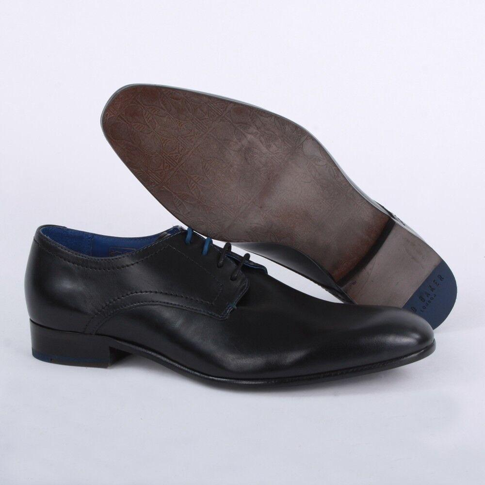 Zapatos de vestir NUEVO Ted Baker London Para M Hombres Oxford Cuero Negro billay - 8 M Para 1addf4