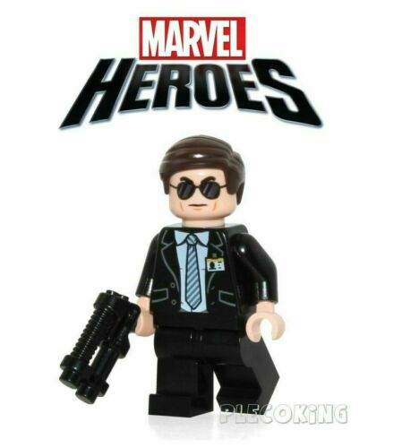 fit lego figure AGENT COULSON SHIELD MARVEL AVENGERS A11
