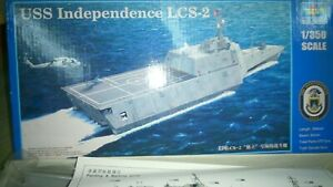 USS-Independence-lcs-2-1-350-Plastic-Model-kit-Trumpeter-n-04548