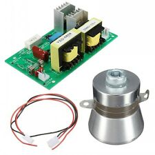 New 50W 40KHz Ultrasonic Cleaning Transducer Cleaner +Power Driver Board 220V AC