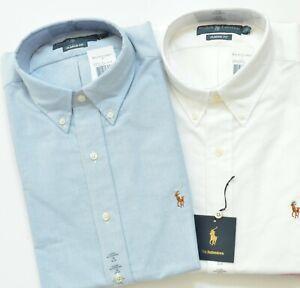 Details about New Polo Ralph Lauren Men's Classic Fit Oxford Cotton Dress Shirt