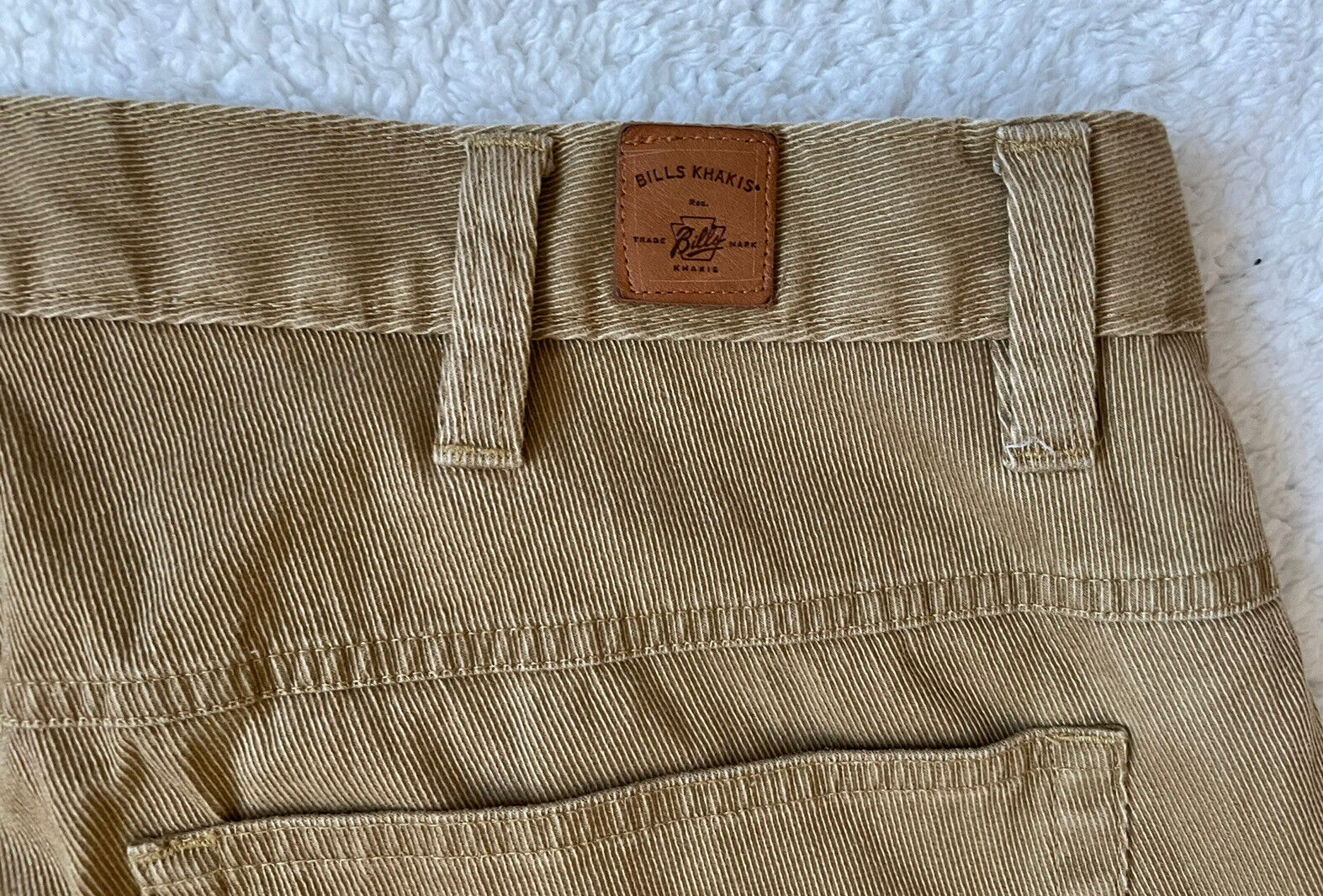 Bills Khakis Men Pleated Beige Cotton CORDUROY Ca… - image 4
