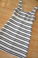 HALLHUBER wunderschönes Sommer Kleid Etuikleid Gr. 36 / UK 8 neu gestreift