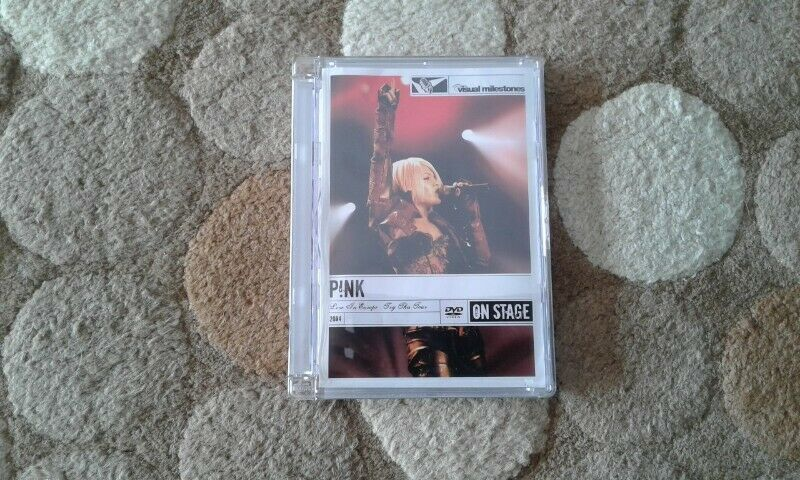 Pink Live in Europe 2004 Try this tour dvd for sale