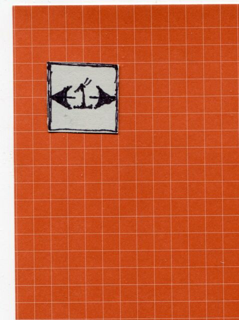 Half Scale Wallpaper Red Quarry Tiles JMS28 Jackson/'s Miniature dollhouse