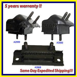 96 01 ford explorer 5 0l engine motor trans mount set 3pcs a3000 a2999 a2868 ebay. Black Bedroom Furniture Sets. Home Design Ideas