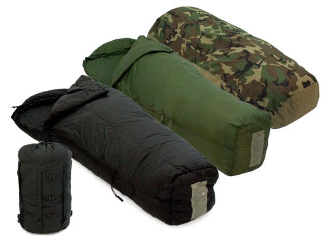 US MILITARY 4 Piece Modular Sleeping Bag Sleep System w/ Waterproof Gortex Bivy