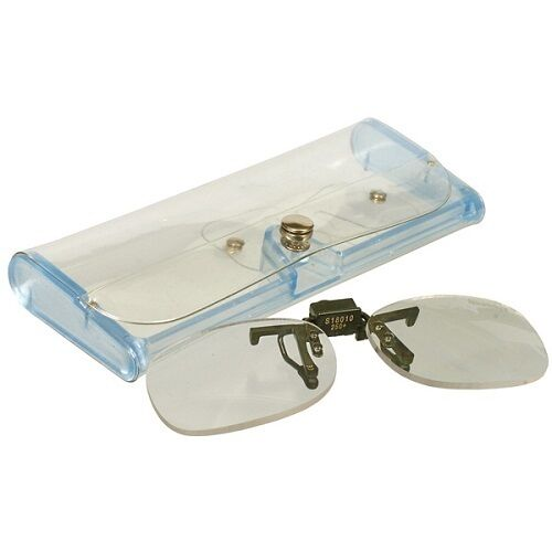 Snowbee Fishing Clip-On Magnifier Lenses +2.5 Magnification Fits most Sunglasses