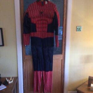 MARVEL SPIDER-MAN 3 FANCY DRESS SUIT SIZE 38-40