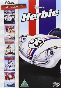 Herbie-Collection-DVD-Set-Complete-1-2-3-4-amp-5-Moives-R4-New-Sealed