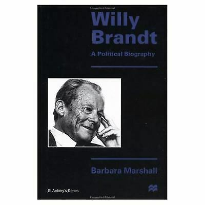 Willy Brandt : A Political Biography by Marshall, Barbara-ExLibrary