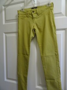 FLYING-MONKEY-CHARTREUSE-GIRLS-SIZE-3-SKINNY-SLIM-PANTS-MADE-USA-LKN