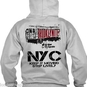 9e89ef56a Image is loading New-York-City-Hoodie-Brooklyn-new-queens-Bronx-