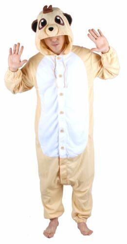 Nw Flying Meerkat Unisex Kigurumi Costume Unique Animal Pajamas Loungewear suit