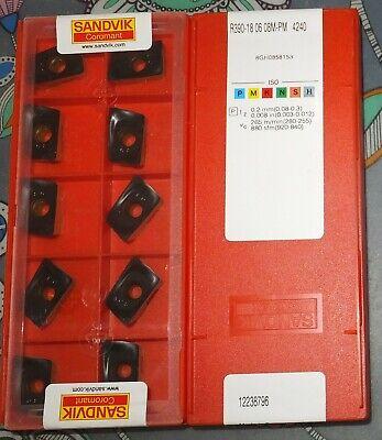 R390-18 06 08M-PM 4240 SANDVIK R390-180608M-PM 4240 10pcs//box