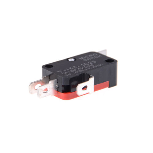 5pcs V-152-1C25 Straight Hinge Lever AC DC Micro Switch Limit Switch FO