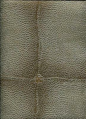 17035-Roberto Cavalli 6 La Sellerie En Cuir Vert Papier Peint