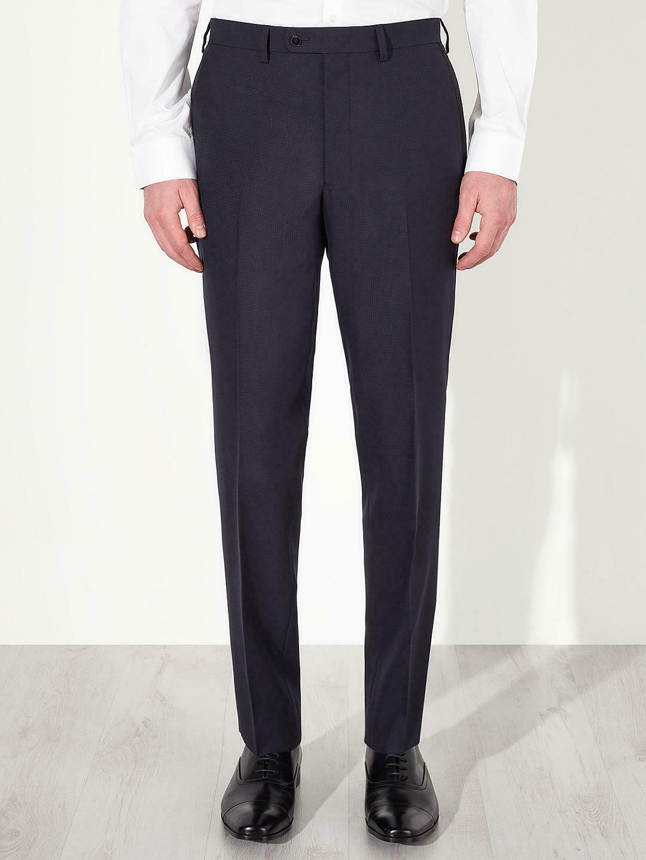 JOHN LEWIS  - Slim Alpha Jacquard Navy Dinner Trousers - W32  34  or 36  Leg 33     | Spezielle Funktion  | Sorgfältig ausgewählte Materialien  | Verbraucher zuerst