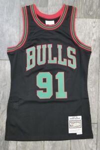 87b6cdc91 DENNIS RODMAN CHICAGO BULLS Mitchell & Ness HWC Swingman xmas Jersey ...