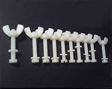 10 Nylon Screw Sets M10 Wing Nut, Washer & Bolt 60mm Length