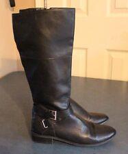 Karen Scott Hanna 7 Damenschuhe Größe 7 Hanna Braun Faux Leder Fashion Knee high fd14a4