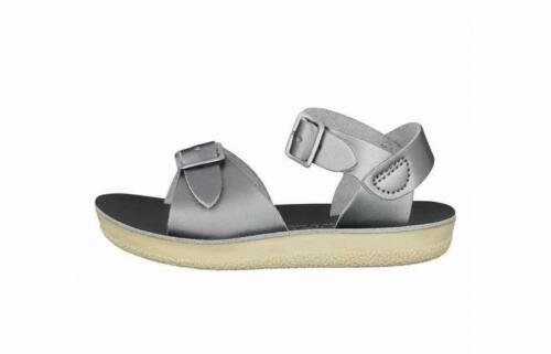 Salt-Water Surfer Sandal in Pewter