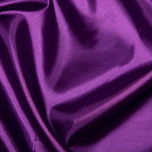 "58/"" wide Habotai Purple Silk Lining Fabric 100/% Polyester  145cm"