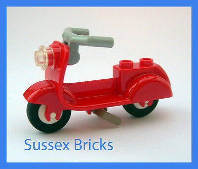 Lego city Scooter rouge