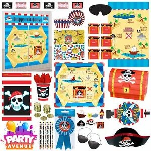 Pirate-Birthday-Party-Decorations-Balloons-Favours-Tableware
